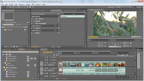 Understanding GPU-accelerated effect performance enhancements: Premiere Pro CS5 New Features
