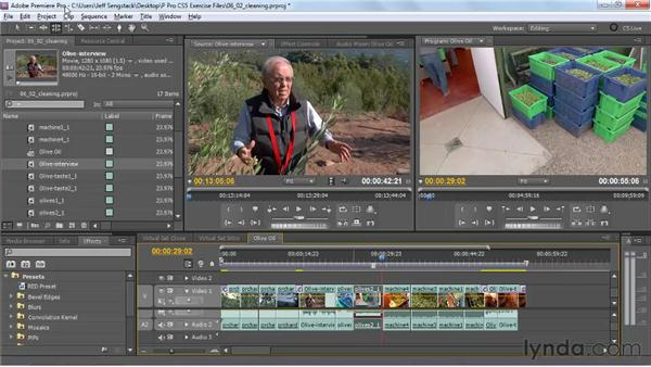 Using the new editing tools: Premiere Pro CS5 New Features