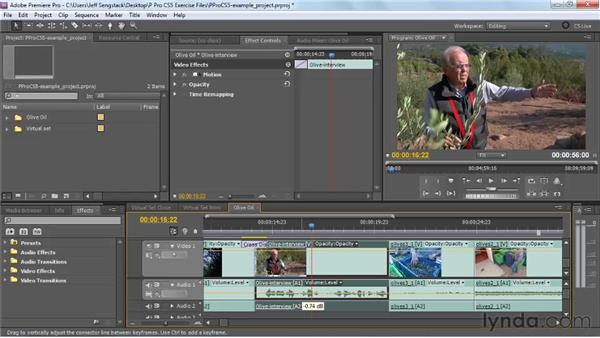Controlling keyframes with more precision: Premiere Pro CS5 New Features