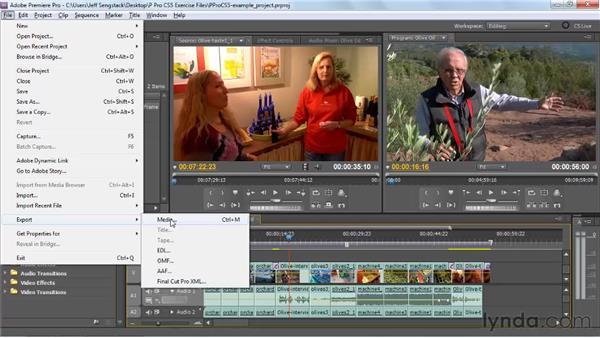 Utilizing direct export: Premiere Pro CS5 New Features