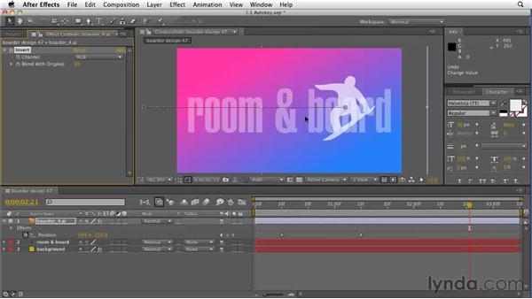 Working in the CS5 timeline: After Effects CS5 New Features