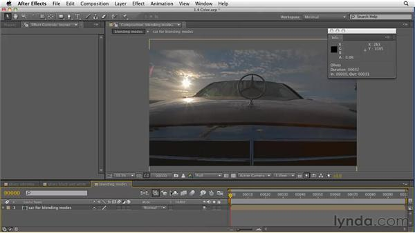 Making use of updated color effects and blending modes: After Effects CS5 New Features
