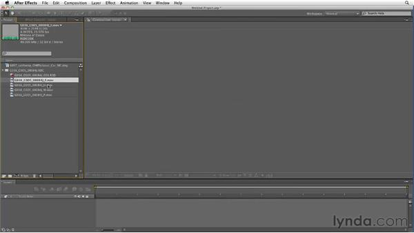 Importing RED footage: After Effects CS5 New Features