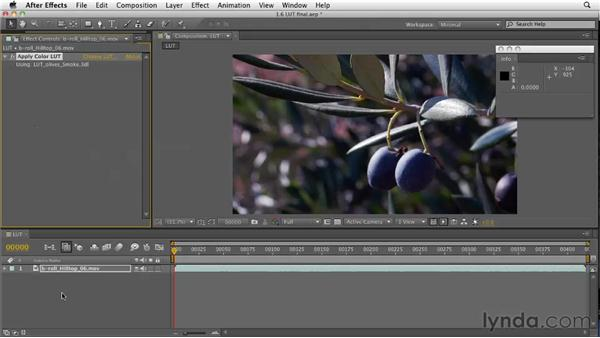 Understanding and implementing LUTS: After Effects CS5 New Features