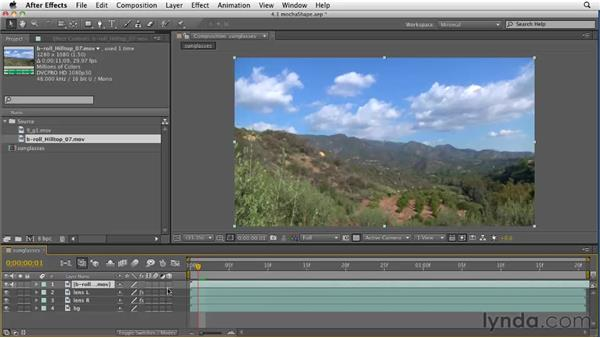 Using mocha shape: After Effects CS5 New Features