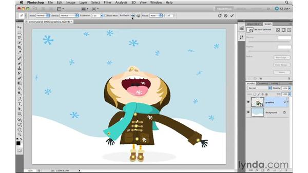 Getting started with Puppet Warp: Photoshop CS5 New Features