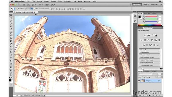 Creating a surreal look with HDR and removing a ghost feature: Photoshop CS5 New Features