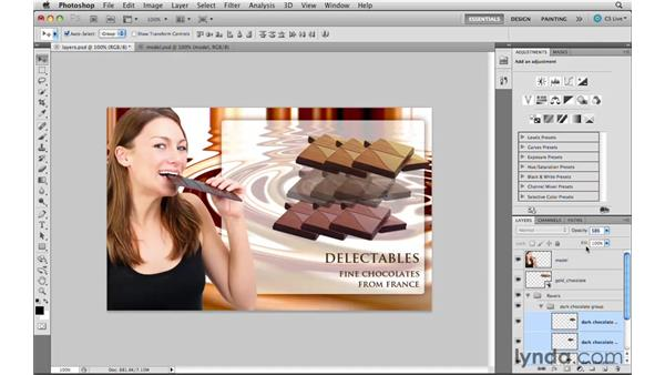 Understanding the layers enhancements: Photoshop CS5 New Features