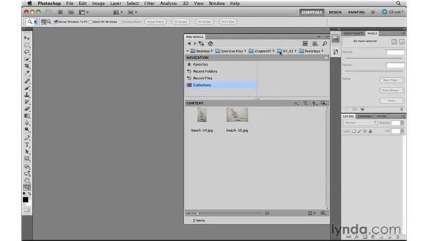 Using Mini Bridge with Bridge: Photoshop CS5 New Features