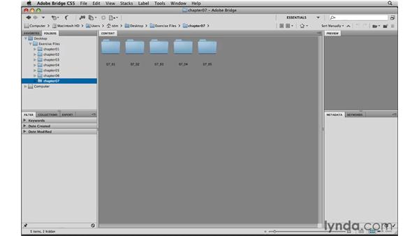 Looking at the path navigation enhancements: Photoshop CS5 New Features