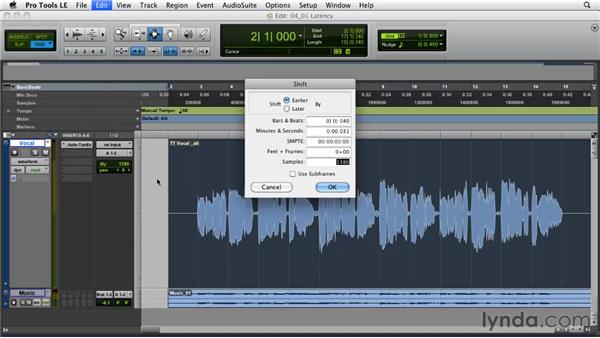 Dealing with plug-in latency: Pro Tools Projects: Pitch Correction with Antares Auto-Tune Evo
