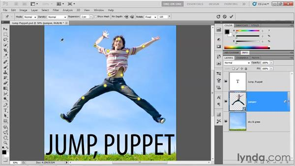 Puppet Warp: Photoshop CS5 Top 5