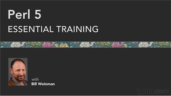 Goodbye: Perl 5 Essential Training (2010)
