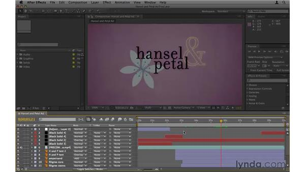 After Effects workflow overview: After Effects CS5 Essential Training