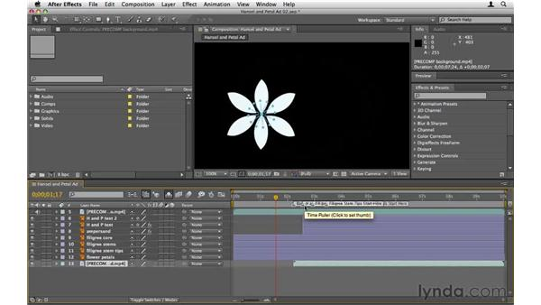 Working with layers: After Effects CS5 Essential Training