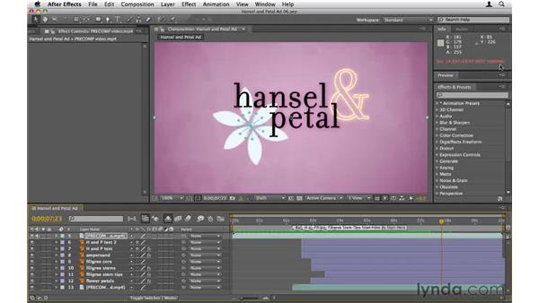 Previewing your work: After Effects CS5 Essential Training