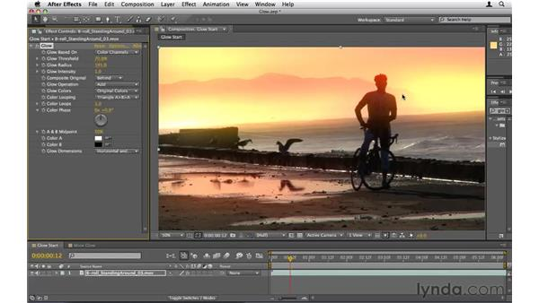 Using Glow: After Effects CS5 Essential Training