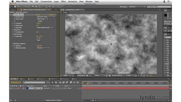Creating patterns and textures: After Effects CS5 Essential Training