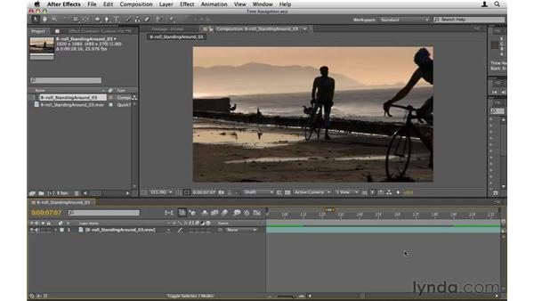 Mastering Timeline navigation: After Effects CS5 Essential Training