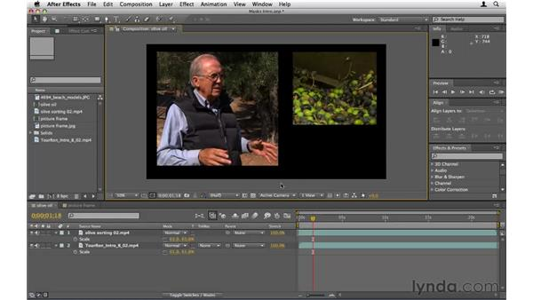Creating and using masks: After Effects CS5 Essential Training