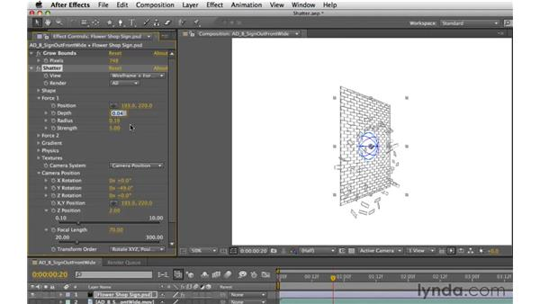 Working with 3D effects: After Effects CS5 Essential Training