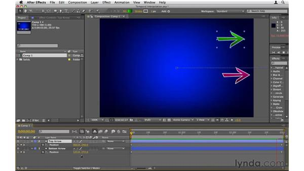 Understanding temporal interpolation: After Effects CS5 Essential Training