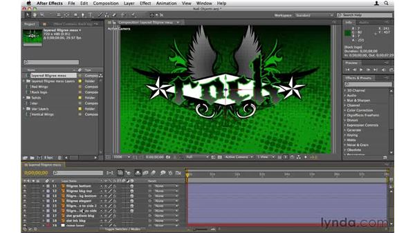 Working with null objects: After Effects CS5 Essential Training
