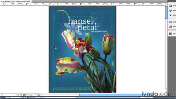 Understanding the Application window: InDesign CS5 Essential Training