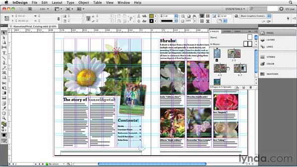 Navigating pages: InDesign CS5 Essential Training