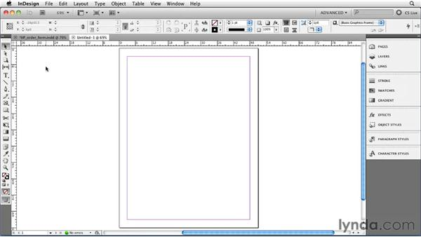 Setting application and document preferences: InDesign CS5 Essential Training