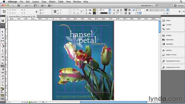 Using the Tool panel: InDesign CS5 Essential Training