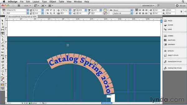 Using contextual menus: InDesign CS5 Essential Training