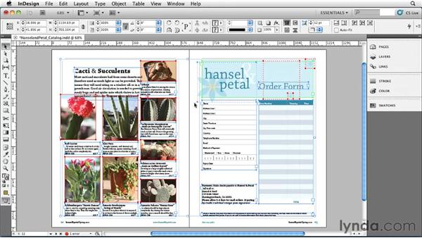 Selecting objects: InDesign CS5 Essential Training