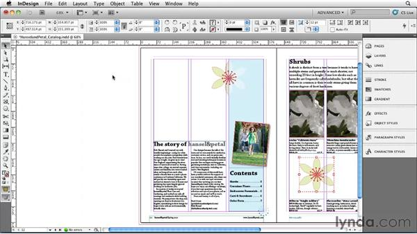 Duplicating objects: InDesign CS5 Essential Training