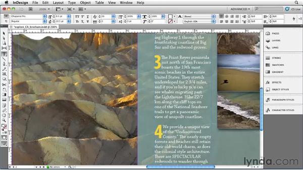 Understanding OpenType features: InDesign CS5 Essential Training