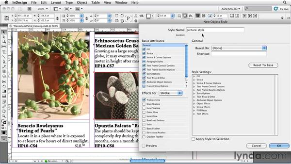 Using object styles: InDesign CS5 Essential Training
