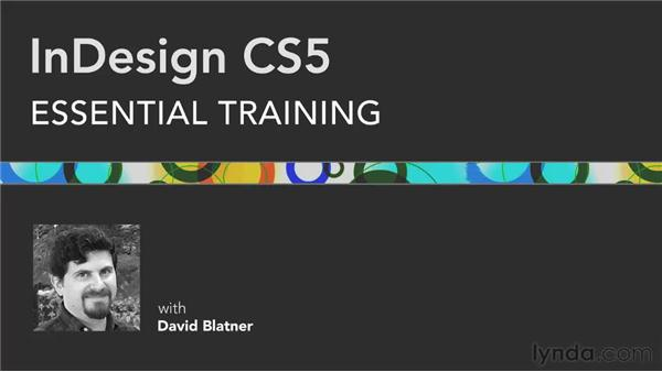 Goodbye: InDesign CS5 Essential Training