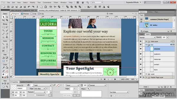 Improving the workflow: Fireworks CS5 Essential Training