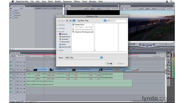 Working with Final Cut Pro: Premiere Pro CS5 Essential Training