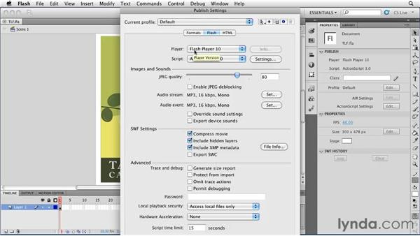 Understanding the Text Layout Framework : Flash Professional CS5 Essential Training