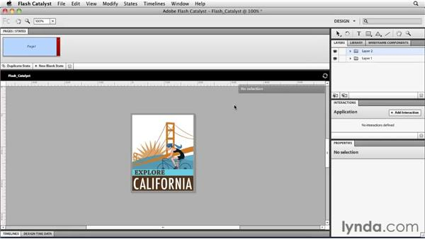 Integrating with Flash Catalyst: Flash Professional CS5 Essential Training
