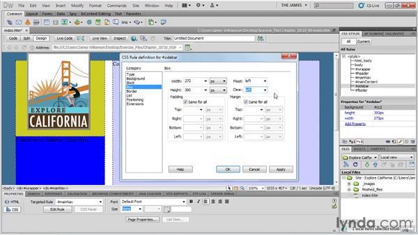: Dreamweaver CS5 Essential Training