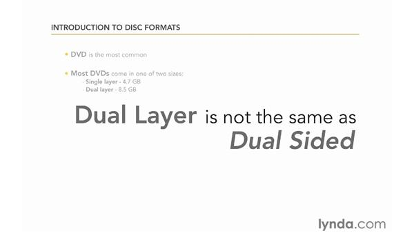 Understanding disc formats: Encore CS5 Essential Training