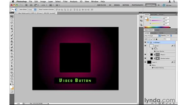 The video button code: Encore CS5 Essential Training