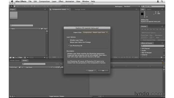 Creating motion menus in After Effects: Encore CS5 Essential Training