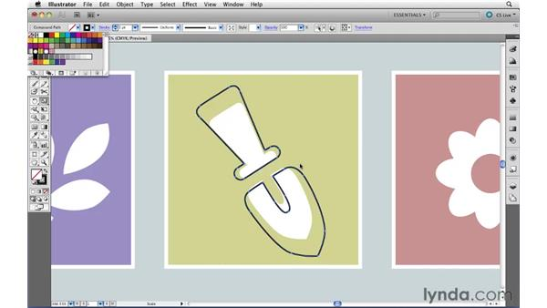 Using Offset Path: Illustrator CS5 Essential Training