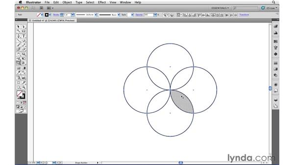 Create a logo mark: Illustrator CS5 Essential Training
