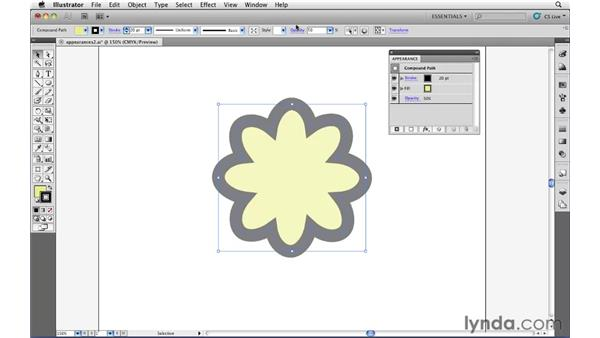 Targeting object attributes: Illustrator CS5 Essential Training