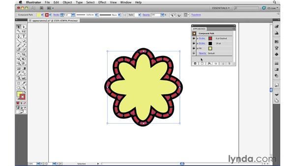 Adding multiple attributes: Illustrator CS5 Essential Training