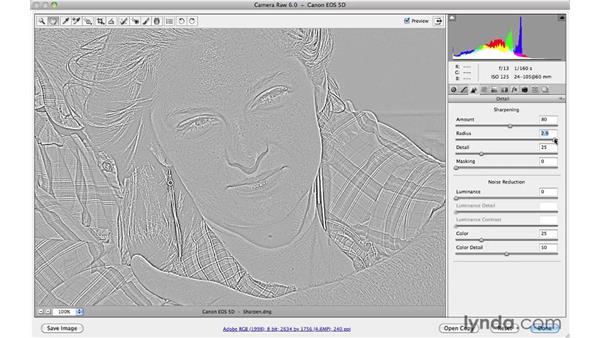 Sharpening the details: Photoshop CS5 Essential Training